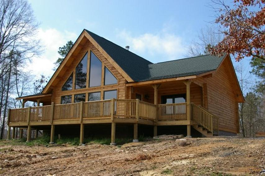 Log Home Country Home Construction For The Ozarks