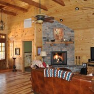 Beautiful Custom Log Sided Home Completed