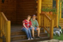 Custom Log Homes – Powell Log Home