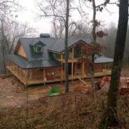 New Log Home near Yellville, AR