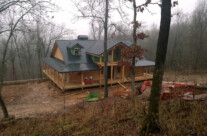 New Log Home near Yellville, AR